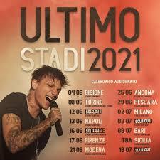 torino concerti - ULTIMO STADI TOUR 2021