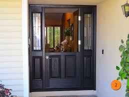 White Entry Doors With Sidelights