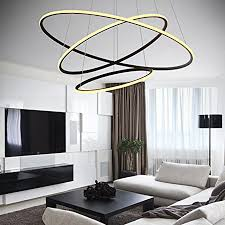 by playing with the way your chandelier hangs it is 47 inches in height and 32 inches in diameter made of metal and silica gel and weighs 11 pounds