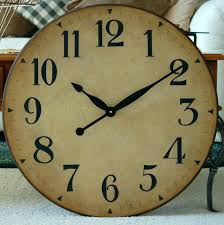 chaney instruments wall clock rustic wood wall clock amazing large wall clocks with inch large wall