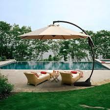 tilda 11 cantilever umbrella pool