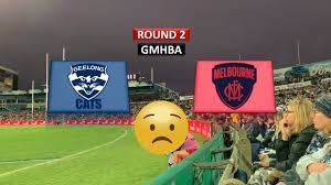 GEELONG vs MELBOURNE ROUND 2 2019 AFL ...