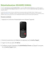 Huawei G3621L User manual