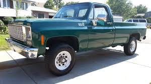 1977 Chevrolet K20 4speed - YouTube