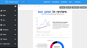 Report With Pictures Design Engaging Reports With Venngages Report Maker