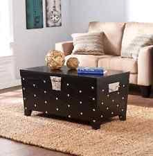 beautiful black coffee table cocktail chest trunk storage living room furniture chest coffee table multifunction furniture
