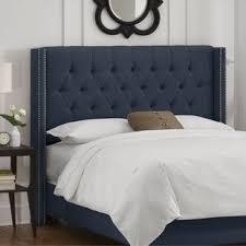 blue upholstered headboard. Beautiful Blue Quickview With Blue Upholstered Headboard Wayfair
