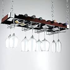 diy wine glass rack chandelier bottle holder chandelier wine bottle drying rack chandelier espresso bottle and stemware ceiling rack at wine enthusiast 7995