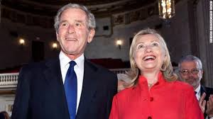 Bush: Hillary is like my