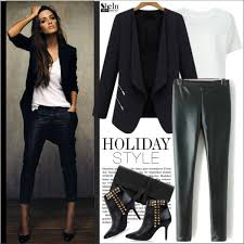 what to wear with leather pants for a night out 5 jpg
