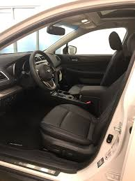 2018 subaru outback interior. Plain Subaru White 2018 Subaru Outback Left Front Interior Photo In Lethbridge AB In Subaru Outback Interior I