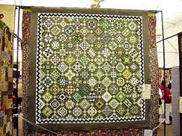 18 best Lime Green Quilts images on Pinterest | Appliques ... & Dear Jane Quilt: Lime Phosphate (Nearly Insane) by madge Adamdwight.com
