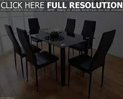 round black glass dining table 4 chairs starrkingschool and ikea set vi