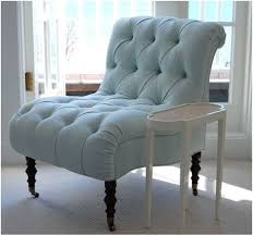 bedroom accent chairs blue