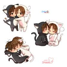 anime chibi cat couples. Brilliant Couples Anime Love Chibi Neko  Buscar Con Google With Anime Chibi Cat Couples I