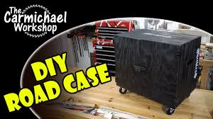 diy road case for live audio gear