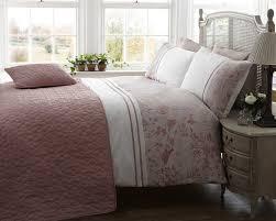 dusty pink double duvet cover sweetgalas