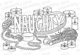 Small Picture naughty kinky BDSM adult coloring page wall art