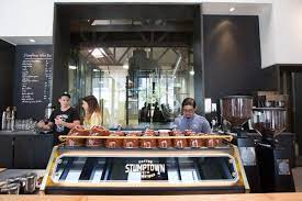 The folks at stumptown cultivate good vibes in their living room cafes, and are committed to sourcing, roasting and brewing fresh coffee of the highest quality. Portland S Stumptown Coffee Builds A New Highland Park Espresso Bar Eater La