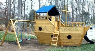 wooden pirate ship playhouse wooden plans playhouse swing set plans wooden pirate ship playhouse wooden plans