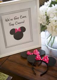 cute party favors for a minnie mouse birthday party