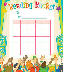 Incentive Charts For Students Reading Rocks Student Incentive Charts
