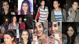 top 10 bollywood actresses who like to flaunt their skin without makeup in public sphere hindi