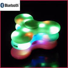 Fidget Spinner With Led Lights And Speaker Led Light Switch Mini Bluetooth Speaker Music Fidget Spinner