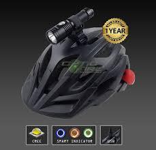 Usb Helmet Light Details About Opticfire Cree Led Usb Smart Cycle Helmet Mount Lamp Bike Head Light Torch