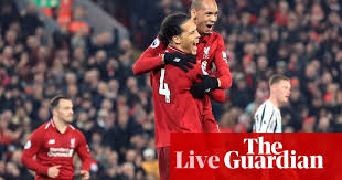 Head to head statistics and prediction, goals, past matches, actual form for premier league. The Guardian On Flipboard Liverpool 4 0 Newcastle Leicester 2 1 Manchester City Premier League Clockwatch As It Happened