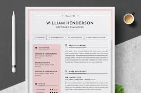 Modern Looking Font For Resume Modern Resume