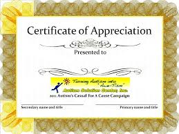 Certificate Of Appreciation Templates Free Download Download Free Certificate Appreciation Templates Activetraining Me