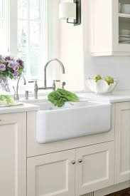 contemporary farmhouse sink with backsplash vintage charm southern living timeless drainboard and laminate countertop faucet garbage