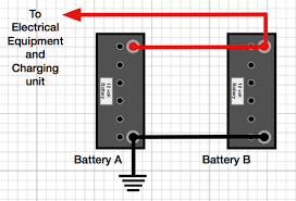 how to connect two batteries in parallel caravan chronicles the correct way to connect two batteries in parallel