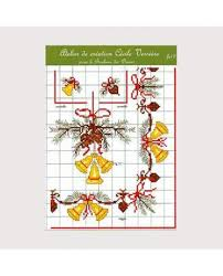 French Cross Stitch Charts Cross Stitch Chart Christmas Theme