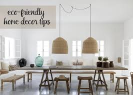 go green with eco friendly home décor