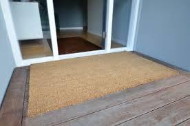 front door rug size