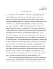 second great awakening study resources 2 pages second great awakening
