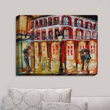 new orleans wall decor decorative canvas wall art new orleans french quarter