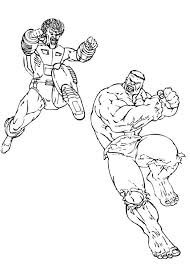 Small Picture The leader fight the hulk coloring pages Hellokidscom