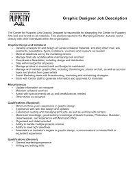 ... graphic designer job description resume xpertresumes com ...