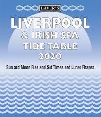 Liverpool Irish Sea 2020 Tide Table Booklet Laver Publishing