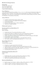 Sample Personal Resume Custom Bank Collector Sample Resume Colbroco
