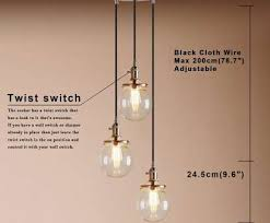 how to wire a multi light chandelier creative pathson industrial modern vintage loft edison ceiling