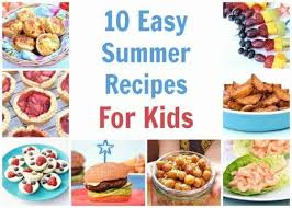 Find healthy, delicious healthy kids recipes including breakfasts, lunches and dinners. 10 Easy Recipes To Cook With Kids This Summer