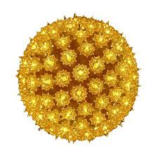 Lowes Sphere Lights Northlight 7 5 In Hanging Ball Sculpture With Yellow