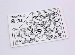 volkswagen passat fuse panel diagram wiring library fuse panel diagram key card 98 05 vw passat b5 genuine 3b0 010