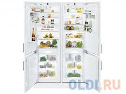 <b>Встраиваемый холодильник</b> Side by Side <b>LIEBHERR SBS</b> 66I3 ...
