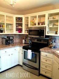 painted kitchen cabinet doors  removedoorshardware formalbeauteous livelovediy how to paint kitchen