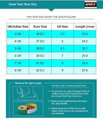 Sandal Size Chart Uk To India Sparx Orange Floater Sandals